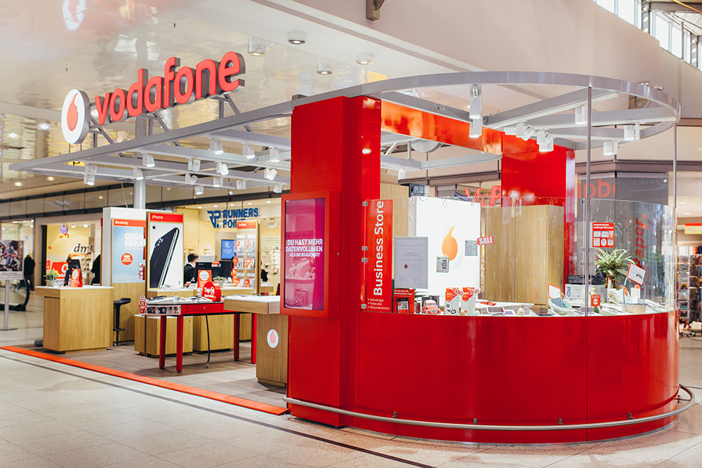 Vodafone Shop Potsdam Stern Center › Matrix Vodafone Shops