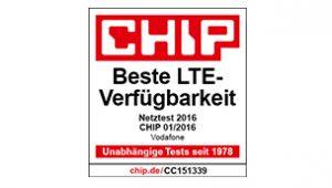 Chip Beste LTE Verfügbarkeit