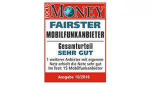 Money Fairster Mobilfunkanbieter